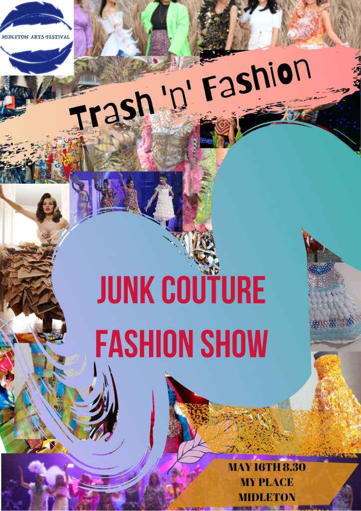 Trash and Fashion Junk Couture fashion show call out!