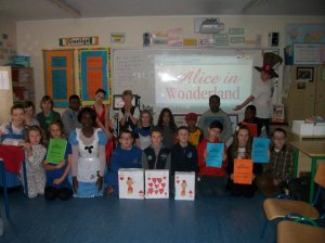 6th Class Alice in Wonderland