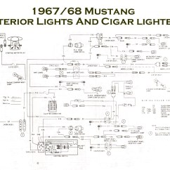 1969 Mustang Radio Wiring Diagram 2006 Dodge Ram 1500 Factory Vintage Diagrams 1967 68 Console Jpg