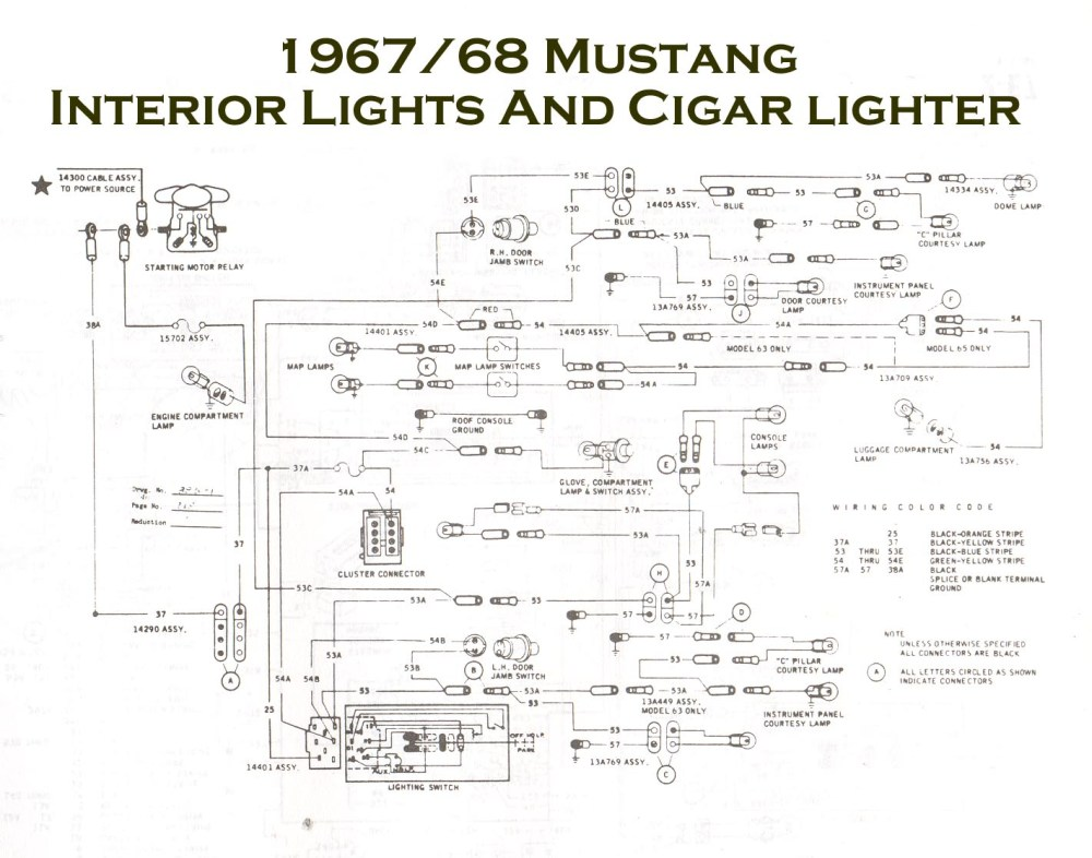 medium resolution of 1967 fairlane wiring diagram online wiring diagram 1968 ford mustang steering column
