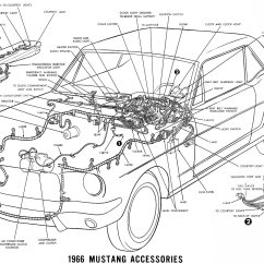 1969 Mustang Radio Wiring Diagram Vl V8 Vintage Diagrams 66 Accessories Details Schematic