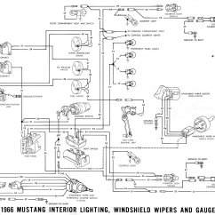 1969 Mustang Radio Wiring Diagram For A Kenwood Car Stereo Vintage Diagrams 66 Interior Lighting Schematics