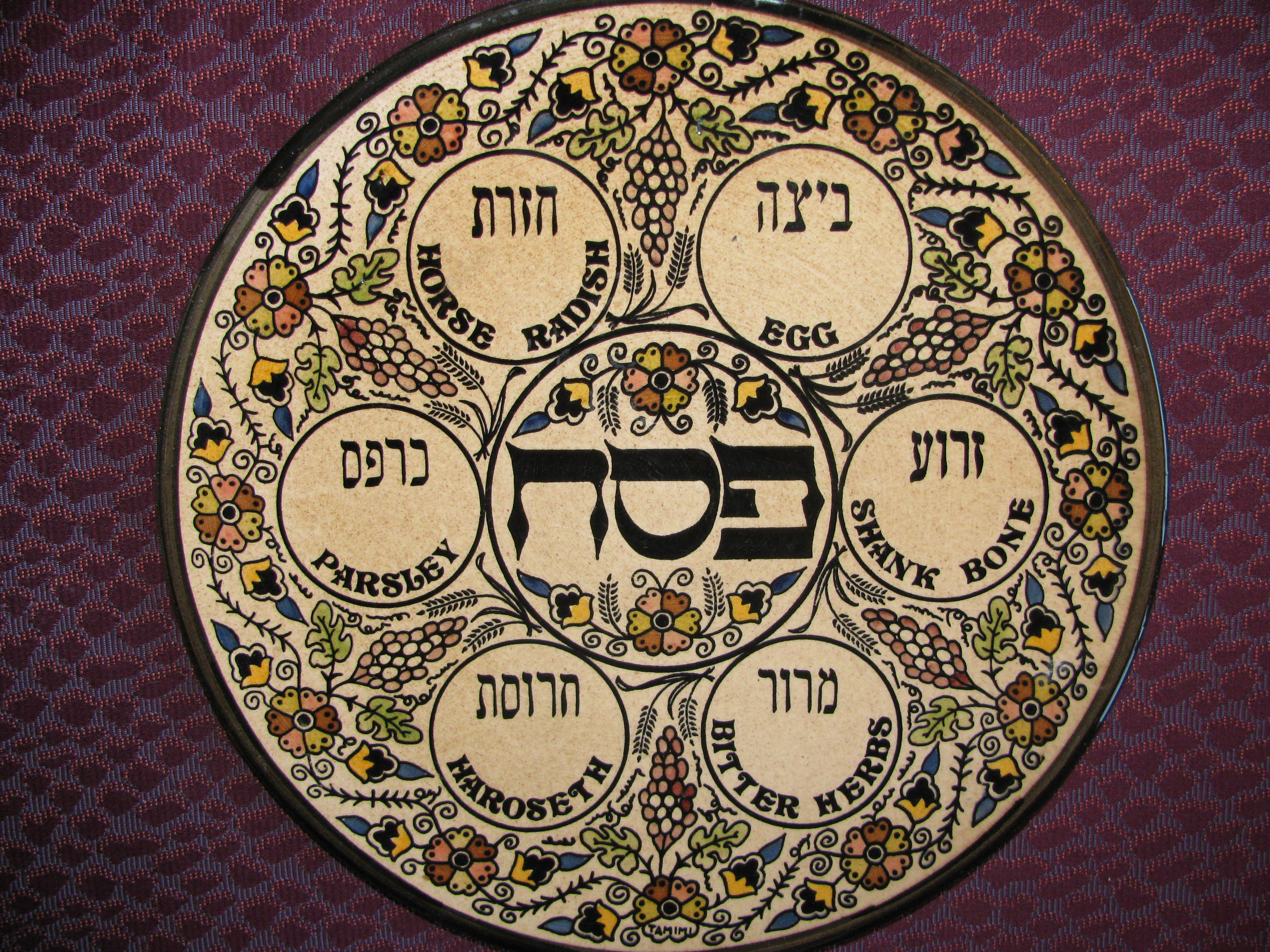 Some Passover Tidbits