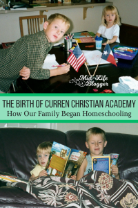 The Birth of Curren Christian Academy