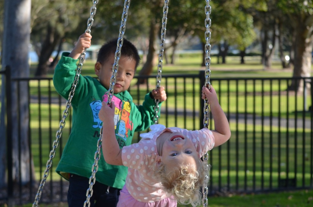 The Profit of Park Days for Homeschool Moms