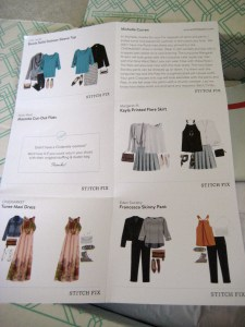 Stitch Fix Style Card by Mid-Life Blogger
