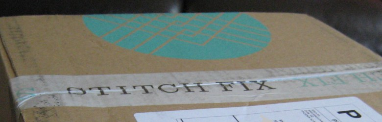 Stitch Fix Box by Mid-Life Blogger