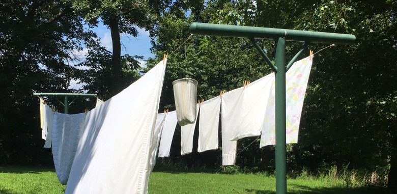 Simple Pleasures - My Clothesline