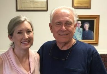 Bob Brumley and Michelle Curren
