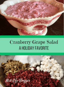Cranberry-Grape Salad ~ A Holiday Favorite