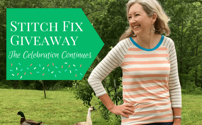 Stitch-Fix Giveaway - The Celebration Continues