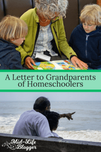 A Letter to Grandparents of Homeschoolers