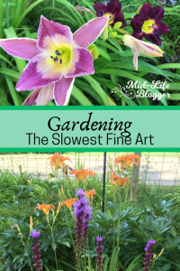 Gardening ~ The Slowest Fine Art