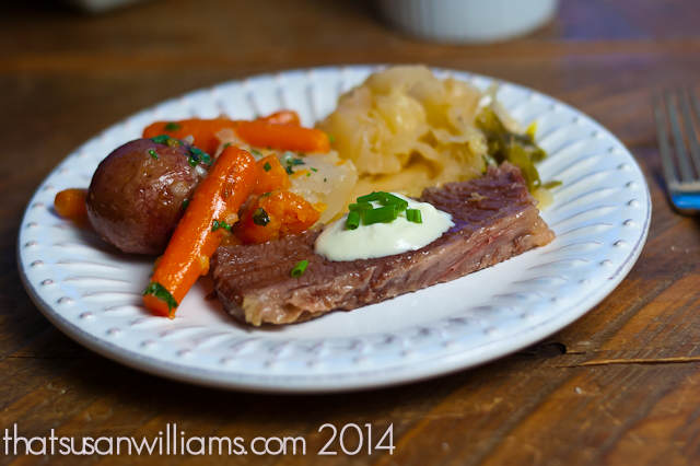 corned beef and cabbage, brining beef, corned beef and cabbage recipe, St Patrick's Day food, what to cook for St. Patrick's Day, corned beef recipe