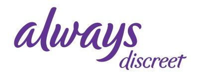 Always Discreet Logo sidebar