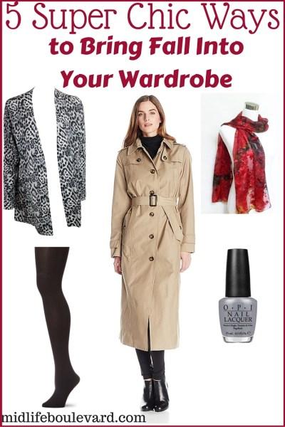 5 Super Chic Ways to Bring Fall Into Wardrobe