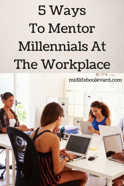 mentor millennials at work