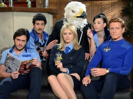 quirky television show Danger 5