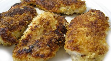 Fried Chicken Cutlets in Lemon and Wine Sauce