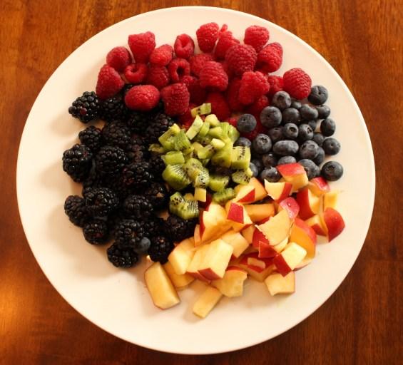 Delicious fruit salad!