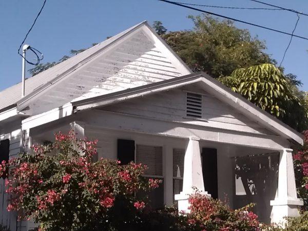 A typical shotgun style Key West house.