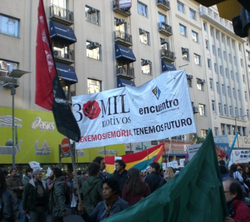 Buenos Aires Argentina demonstration could have portended disasters during travel