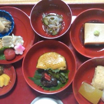 Food in Japan: vegetarian buddhist lunch