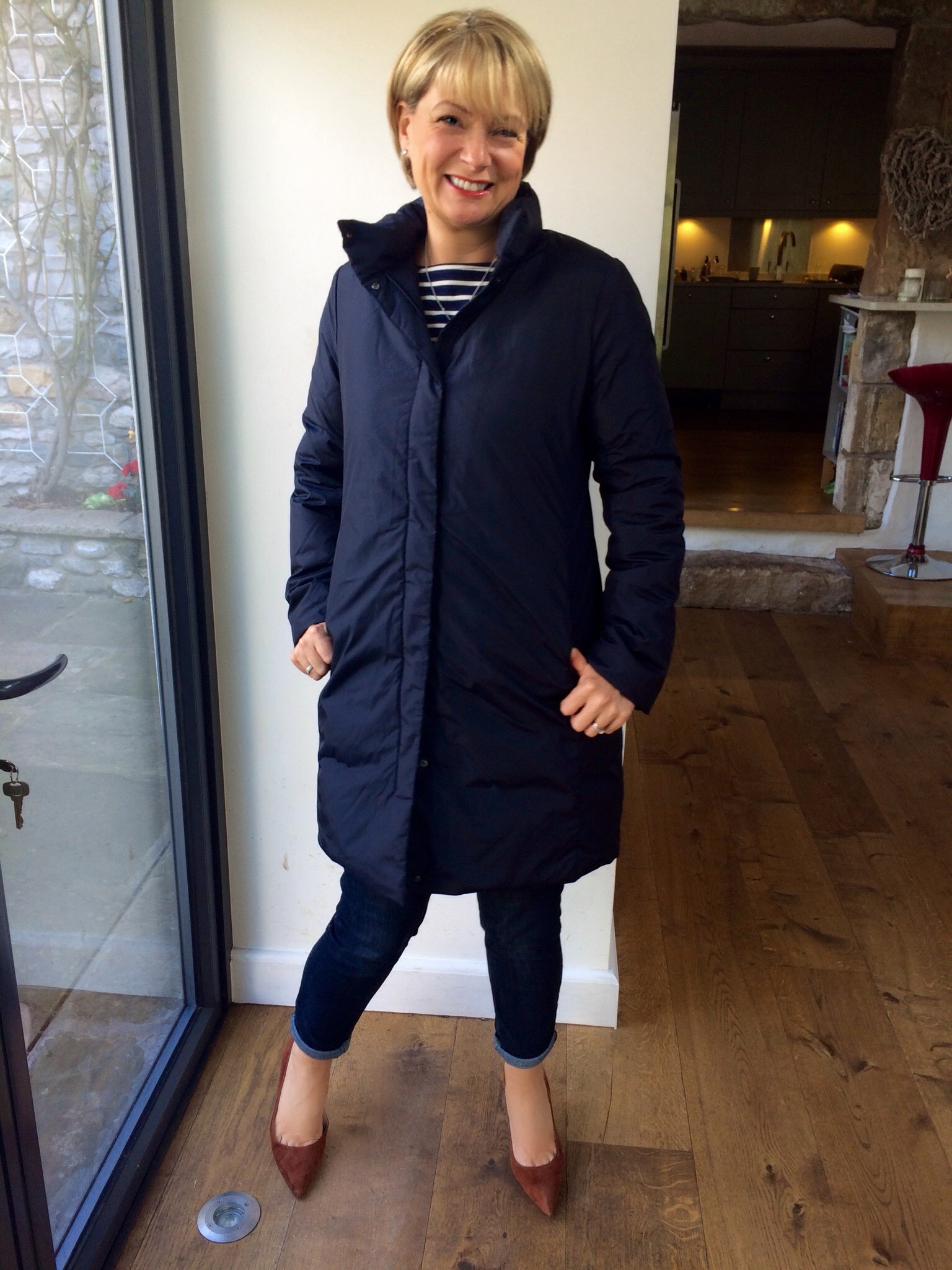 Ines De La Fressange At Uniqlo Review · Inés Down Coat ...
