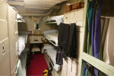 Sleeping area for officers