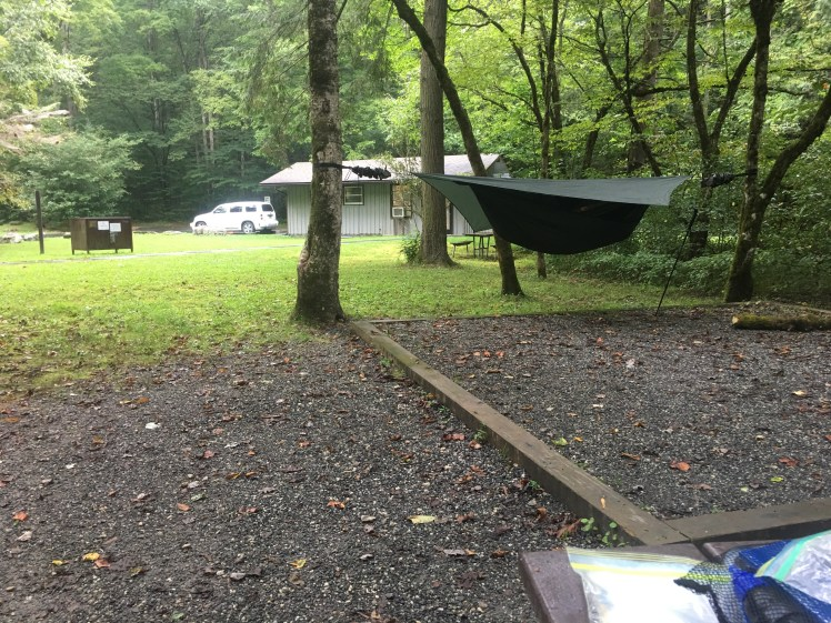 Smokemont campsite