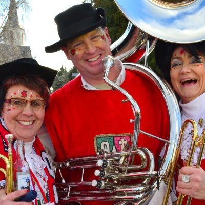 Fasching and the Tuba Player