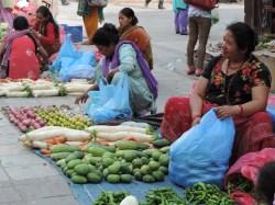 Street Vendors - Kathmandu