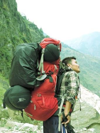 Rajendra - Our awesome porter