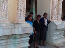 Locals saying goodbye! - Burma