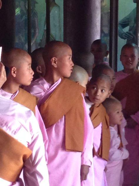 Buddhist Nuns - Burma