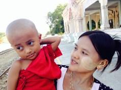 Buddhist Baby Monk