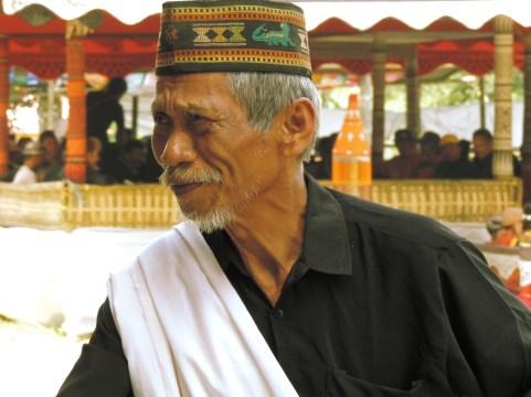 Torajan Funeral - Family Member, Tana Toraja, South Sulawesi, Indonesia