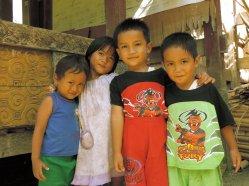 Village Children - Tana Toraja
