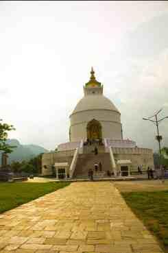 Peace Pagoda Pokhara city