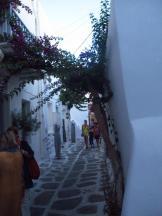 Laneways of Naoussa, Paros, Greece