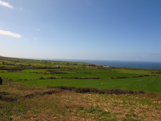 The gorgeous greens of Cornwall