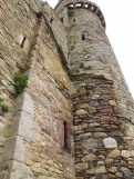 The tower of Fethard Castle, Ireland
