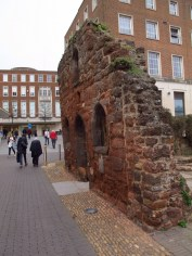 The old and new in Exeter
