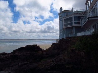 Living on the edge, St. Ives, England