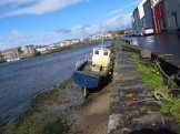 Resting at the mouth of the Corrib River, Galway