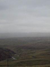 Coming in to rain hear the Scottish border