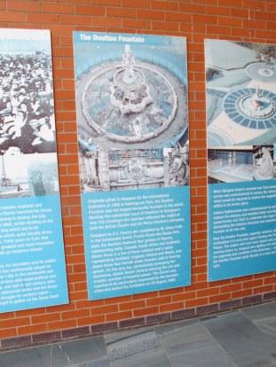 About the Doulton Fountain, Glasgow