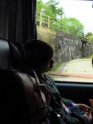 Sleeping beauties in the bus
