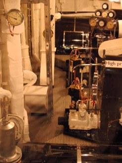 Britannia engine room