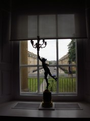 View from Holburne Museum down Great Pulteney St